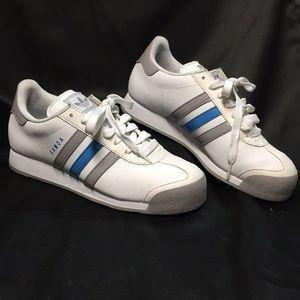 Adidas Samoa Sz 8 White / Blue